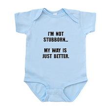 Not Stubborn Body Suit