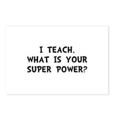 Teach Super Power Postcards (Package of 8)
