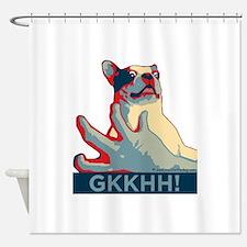 Mackie GKKHH! (rwb design) Shower Curtain