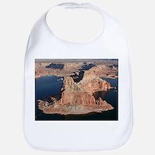 Lake Powell, Arizona/Utah, USA, from the air 1 Bib