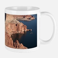 Lake Powell, Arizona/Utah, USA, from the air 1 Mug