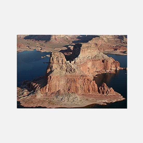 Lake Powell, Arizona/Utah, USA, from the air 1 Rec