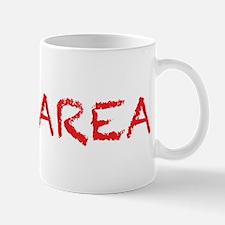 yay area4 red Mug