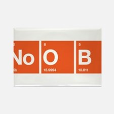NOOB n00b Rectangle Magnet