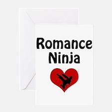 Romance Ninja Greeting Card