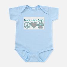 peace love dogs Body Suit