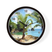 Cute Honeymoon Wall Clock