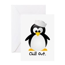 Chill Out Greeting Cards