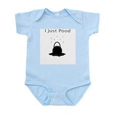I Just Pood Infant Bodysuit