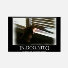 In-dog-nito Rectangle Magnet