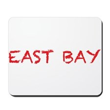 east bay4 red Mousepad