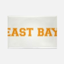 east bay2 orange Rectangle Magnet