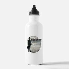 Project Archivist White T Water Bottle
