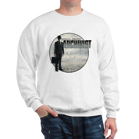 Project Archivist White T Sweatshirt