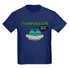 TWINVASION We're Here! T-Shirt