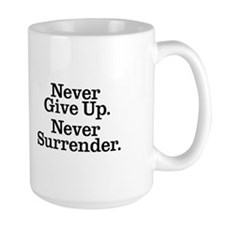 never_give_up_3 Mugs