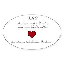 Join the Joyful heart foundation, Decal