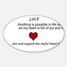 Join the Joyful heart foundation, Decal