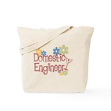 Domestic engineer.png Tote Bag