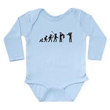 Reporter Long Sleeve Infant Bodysuit