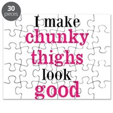 Chunky Thighs Funny Baby Puzzle
