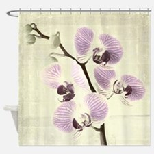 Light Orchids Shower Curtain