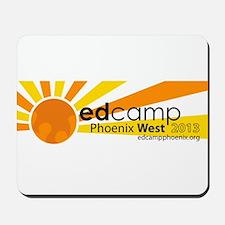Edcamp Phoenix West 2013 Official Logo Mousepad