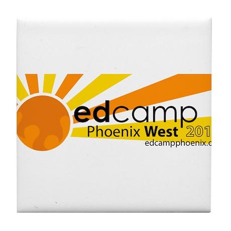 Edcamp Phoenix West 2013 Official Logo Tile Coaste