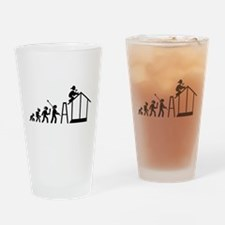 Home Builder Drinking Glass