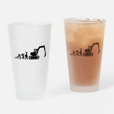 Digger Drinking Glass