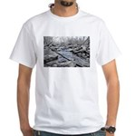 Halls Creek Blue White T-Shirt