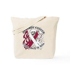 Destroy Throat Cancer Tote Bag