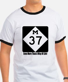 M-37 Sign w/slogan T-Shirt