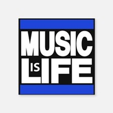 music life blue Sticker
