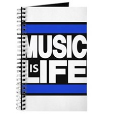music life blue Journal