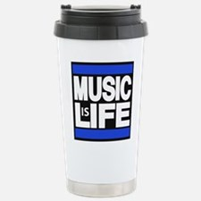 music life blue Travel Mug