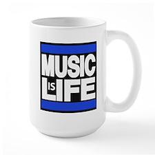 music life blue Mug