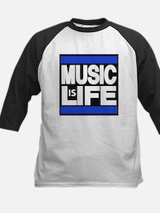music life blue Baseball Jersey