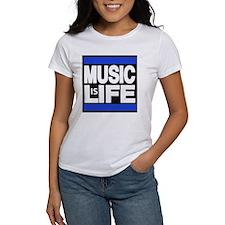 music life blue T-Shirt