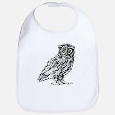 Beautiful Owl Bib