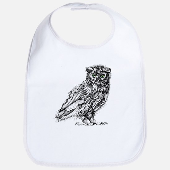 Beautiful Owl Bib