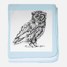 Beautiful Owl baby blanket