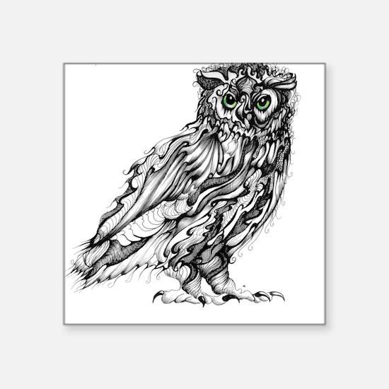 Beautiful Owl Sticker