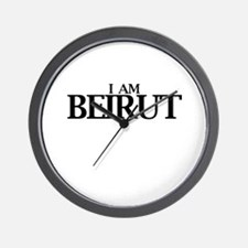 I am Beirut Wall Clock