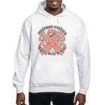 Destroy Uterine Cancer Hooded Sweatshirt
