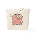Destroy Uterine Cancer Tote Bag
