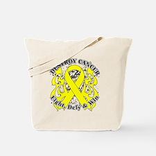 Destroy Sarcoma Cancer Tote Bag