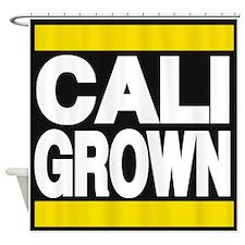 caligrown yellow Shower Curtain