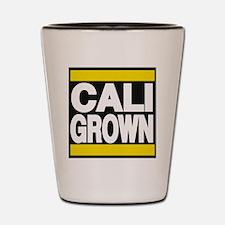 caligrown yellow Shot Glass
