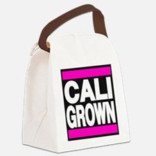 caligrown pink Canvas Lunch Bag